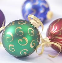 Gilded Ornaments