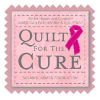 Quilt for The Cure Logo
