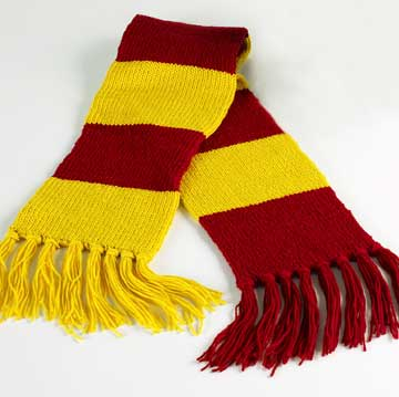 Knitting Pattern Gryffindor Scarf : KNIT SCARF PATTERN GRYFFINDOR 1000 Free Patterns