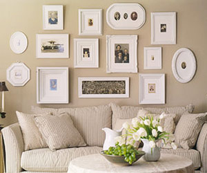 Finesse Your Nest Big Ways To Fill Wall Space Without