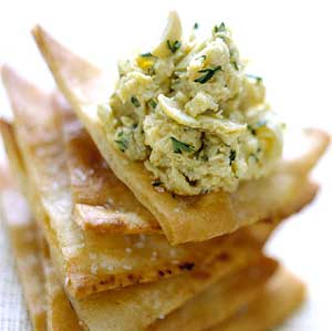 Hummus Artichoke Dip