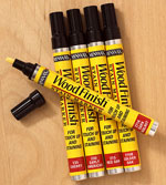 Wood Finish stain markers