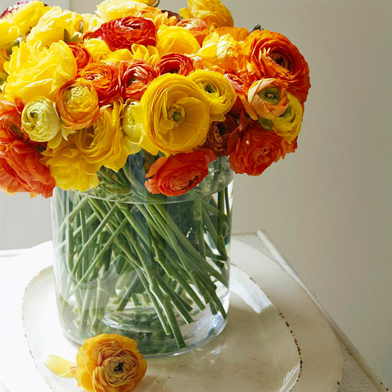 Yellow and Orange Centerpiece