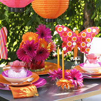 contemporary style party dining table