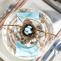 country style place setting