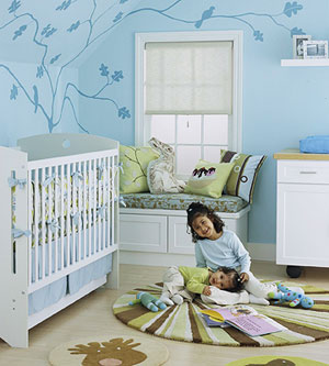Baby  Bedroom Ideas on Cute Nursery Ideas   Interior Design For The Bedroom
