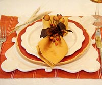 Holiday place-setting