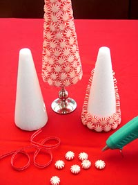 Holiday candy tree craft how to