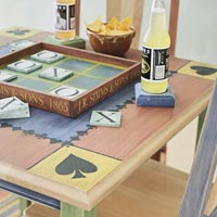 Creative game and play table