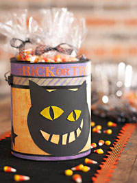 Trick-or-Treat Candy Can