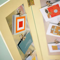 crafts station card display