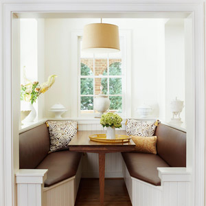 Brown Banquette