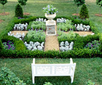 Easy-Care Formal Garden Plan