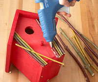 gluing sticks