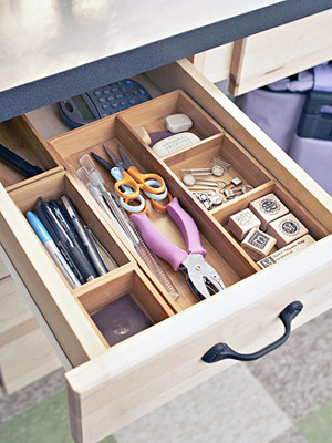 drawer of tools