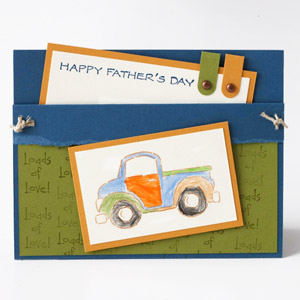 Truck Fathers Day Card