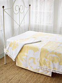 towel bedskirt how-to