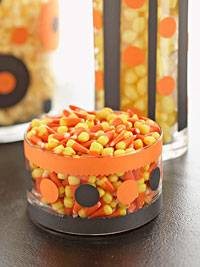 candy corn bowl