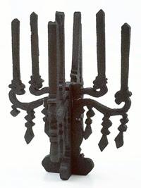 Foam Candelabra with Pedestal