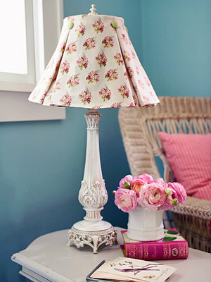 country style lamp