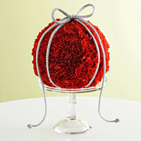 rose ball centerpiece