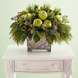 Green Apple plant/centerpiece