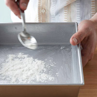 Preparing a Baking Pan