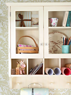 Hanging Craft Storage Cabinet