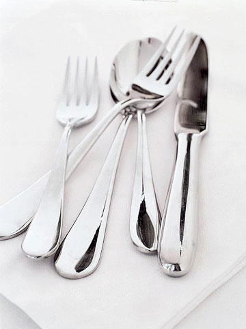 Flatware from Pottery Barn