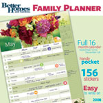 Better Homes and Gardens 16-month family planner