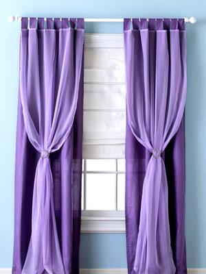 purple flowy panel