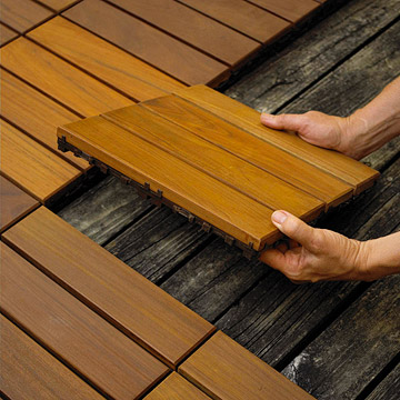 snapping deck together