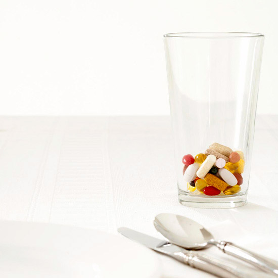 class of vitamins at placesetting
