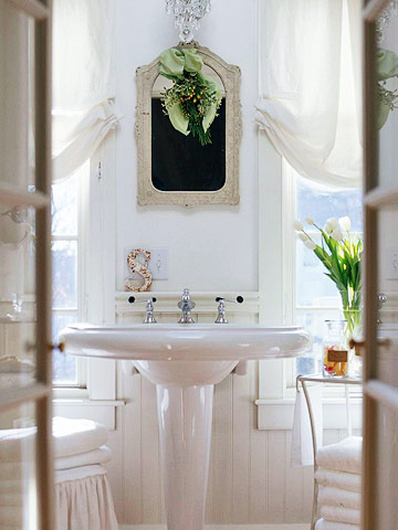 white master bathroom sink