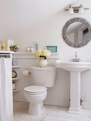 Cottage renovation inspiring interiors for Cottage bathroom ideas renovate