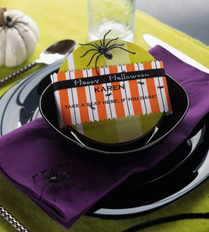 spider place setting