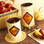 Boo candles