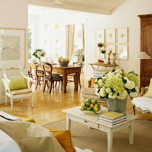 White a fresh perspective for Neutral green living room