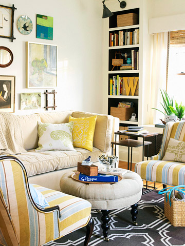 Small Space Solutions Living Rooms