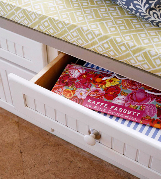 selke mudroom: storage drawers