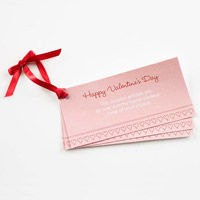 Valentine coupon pack