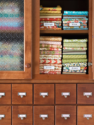 fabric cabinet