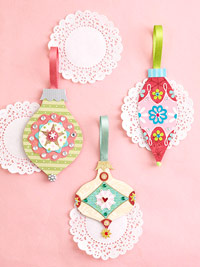 detailed paper ornaments
