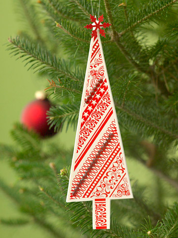 Decorated Tree Ornament