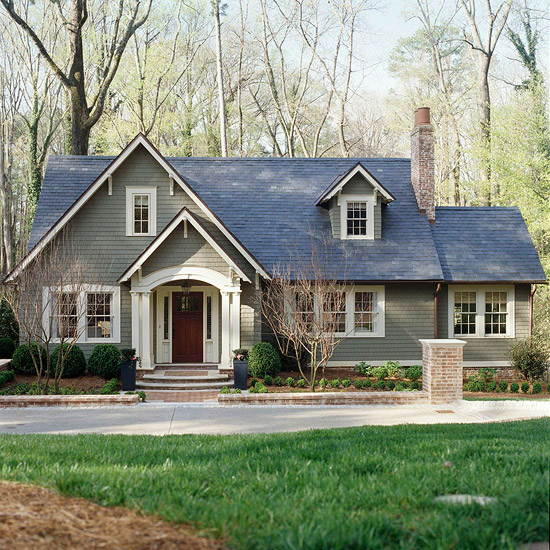 Curb Appeal Ideas--Before and After