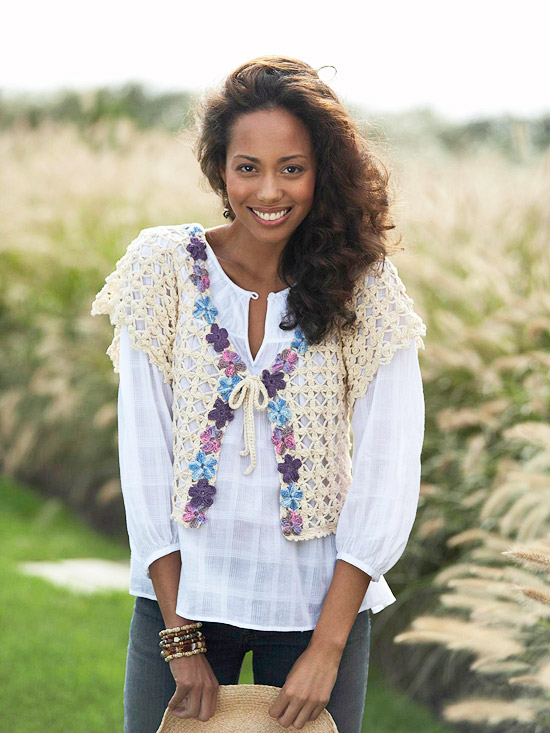 Free Vest Patterns | Free Vintage Crochet Patterns