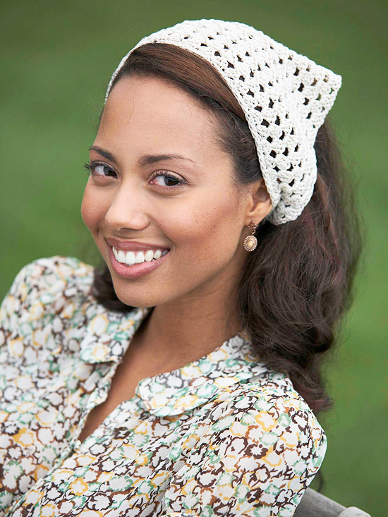 FREE CROCHET KERCHIEF PATTERN - Crochet - Learn How to Crochet