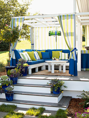 I Was Thrilled To See BHG Coming Up With Affordable And Adorable DIY  Projects. Take This Patio For Instance, Itu0027s Full Of DIY Projects And  Upcycling Ideas I ...