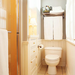 Bathroom Storage Cabinet on Small Bathroom Storage Ideas  Go Vertical   Fresh Digs