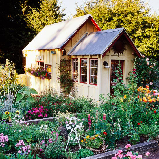 oasis mobiliario jardim : oasis mobiliario jardim:Cottage Garden Shed Ideas